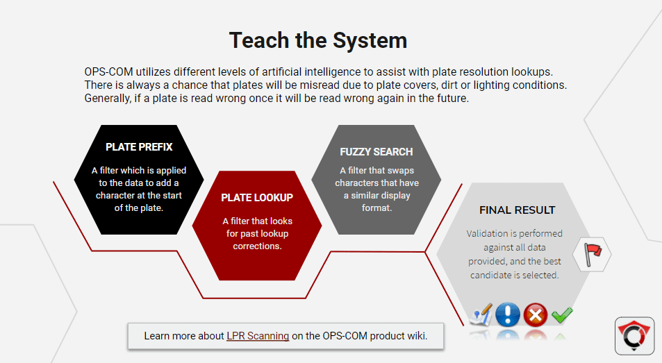 Smart LPR - Teach the system