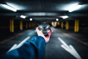 parking management crystal ball