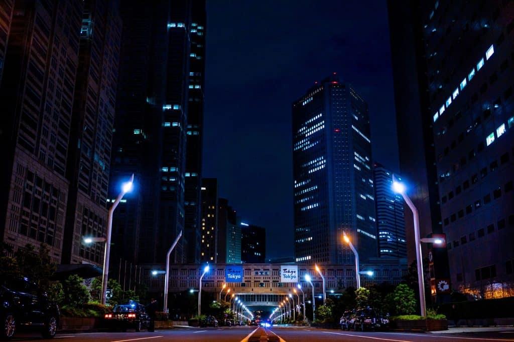smart city lights